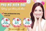 Chương trình ưu đãi Chào mừng ngày Phụ nữ Việt Nam 20/10