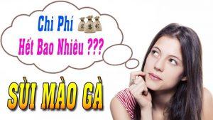 Chi phí chữa sùi mào gà hết bao nhiêu tiền 2018 tại tphcm
