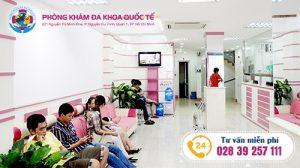 Phòng khám đa khoa quốc tế HCM - địa chỉ chữa viêm đường tiết niệu uy tín, tin cậy