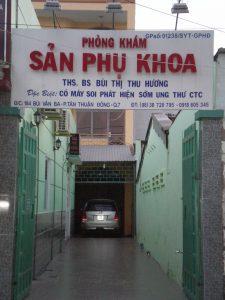 Phòng khám phụ khoa BS.THS Bùi Thị Thu Hương