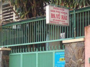 Phòng khám phụ qua của BS. Vũ Hải