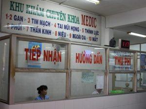 Khám và điều trị tại bệnh viện hòa hảo