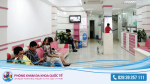 Phòng khám đa khoa quốc tế - địa chỉ phá thai an toàn ở tphcm